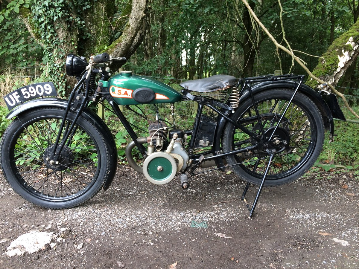 Bsa A30 1.74HP 1930 Vintage Banbury Run Bike. For Sale (picture 1 of 6)