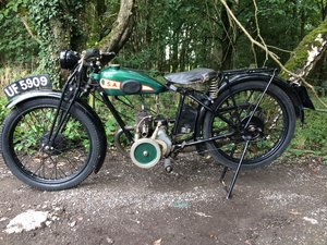 Bsa A30 1.74HP 1930 Vintage Banbury Run Bike. For Sale