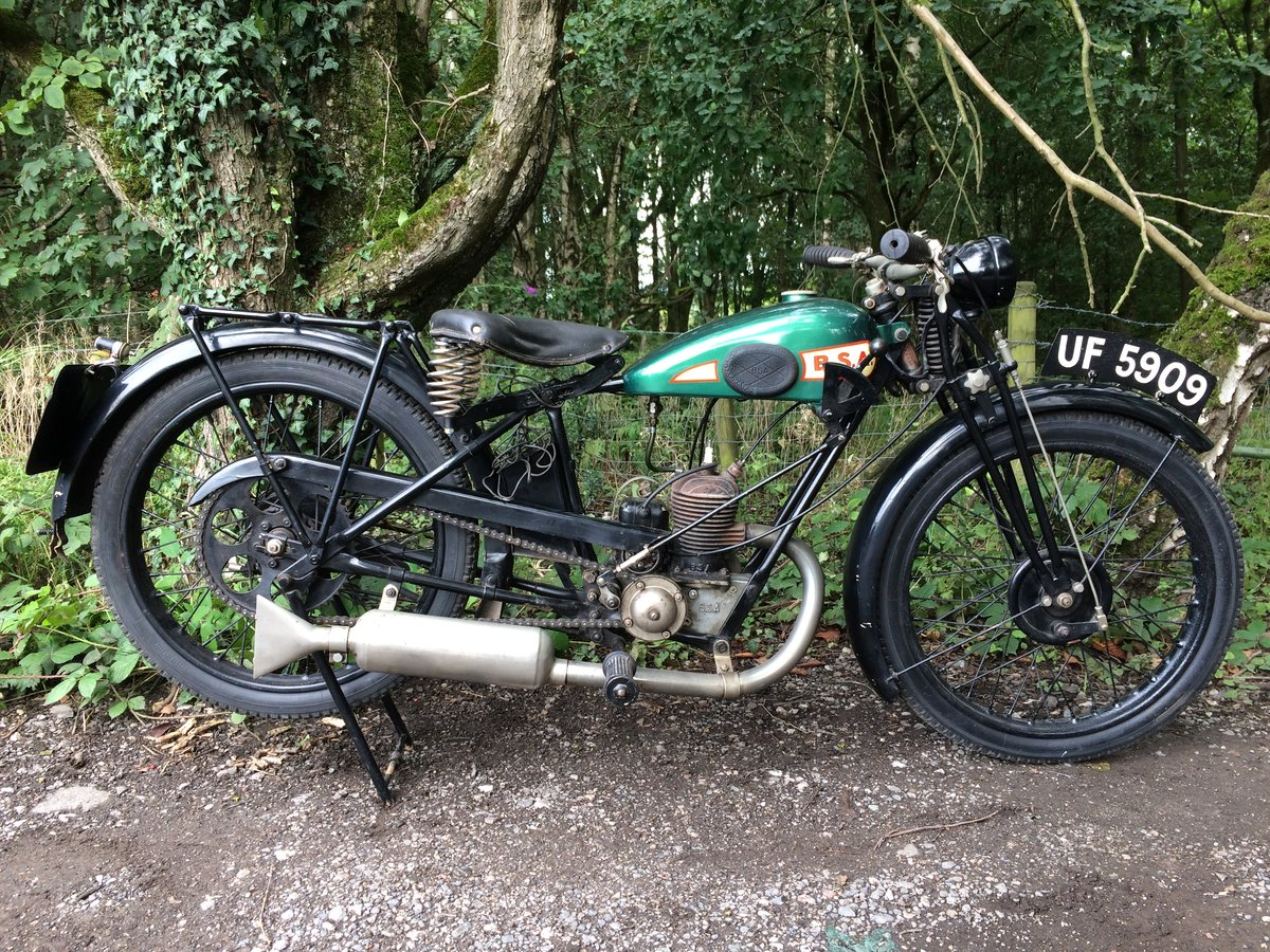 Bsa A30 1.74HP 1930 Vintage Banbury Run Bike. For Sale (picture 2 of 6)