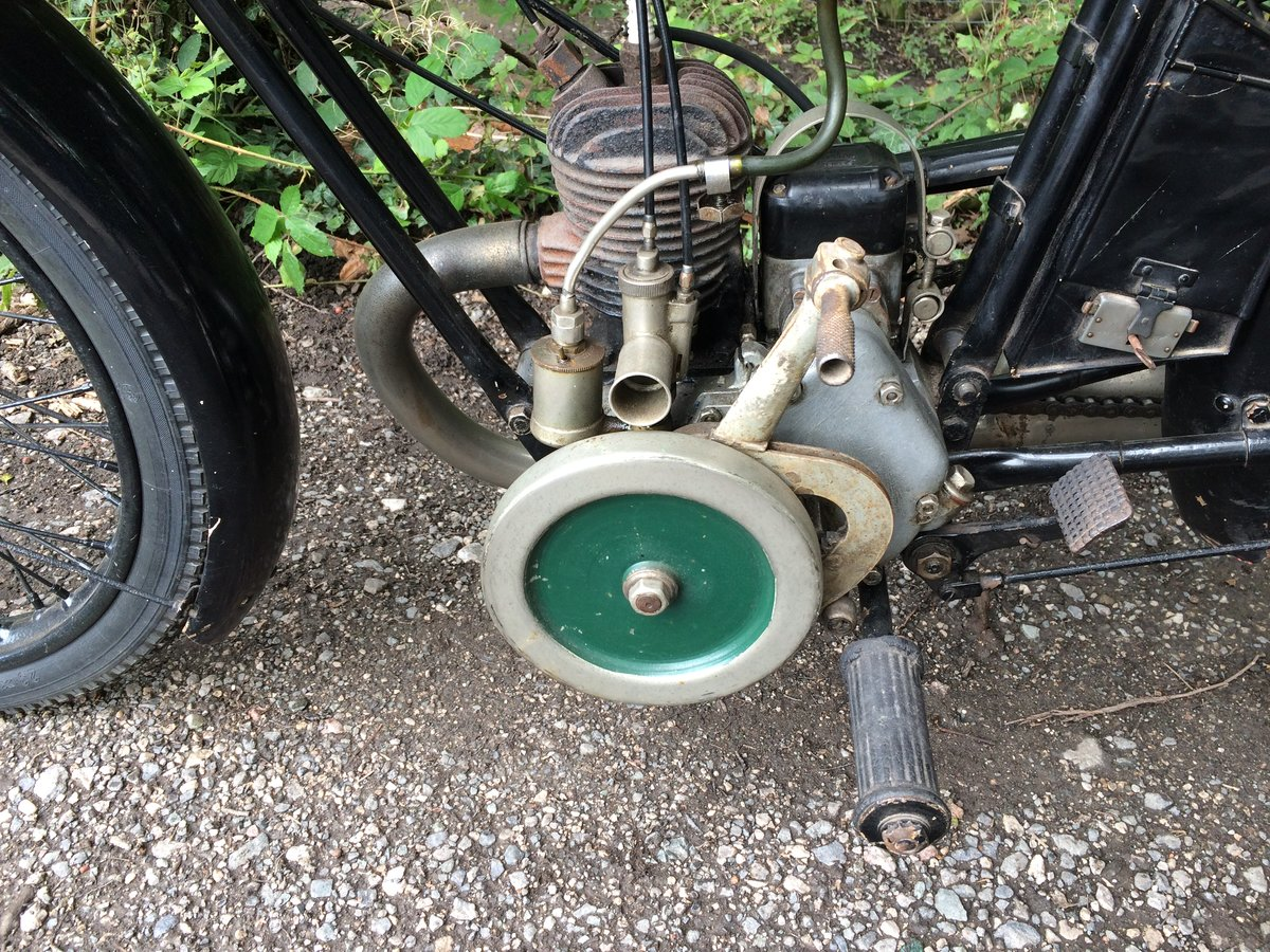 Bsa A30 1.74HP 1930 Vintage Banbury Run Bike. For Sale (picture 3 of 6)