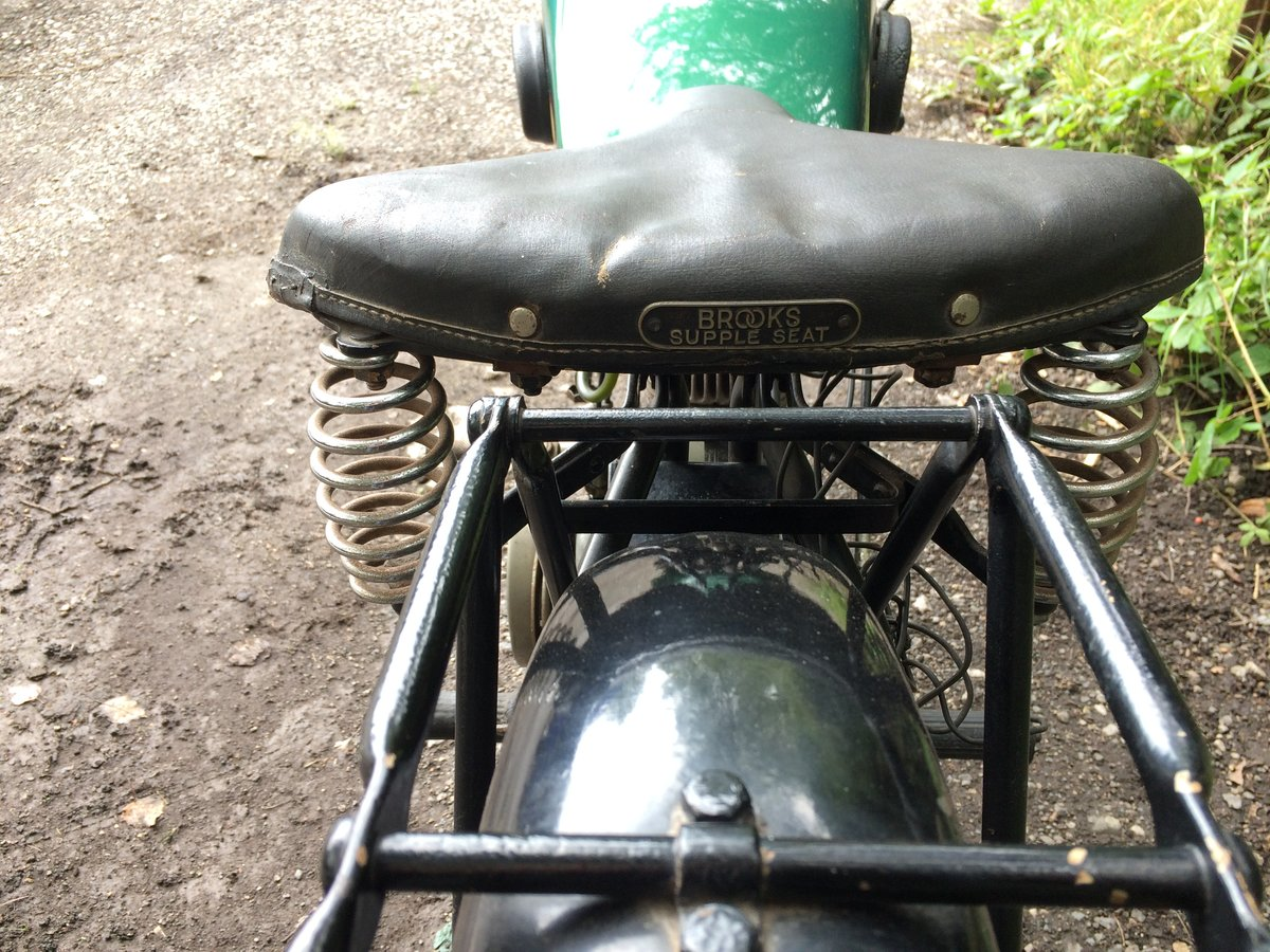 Bsa A30 1.74HP 1930 Vintage Banbury Run Bike. For Sale (picture 4 of 6)