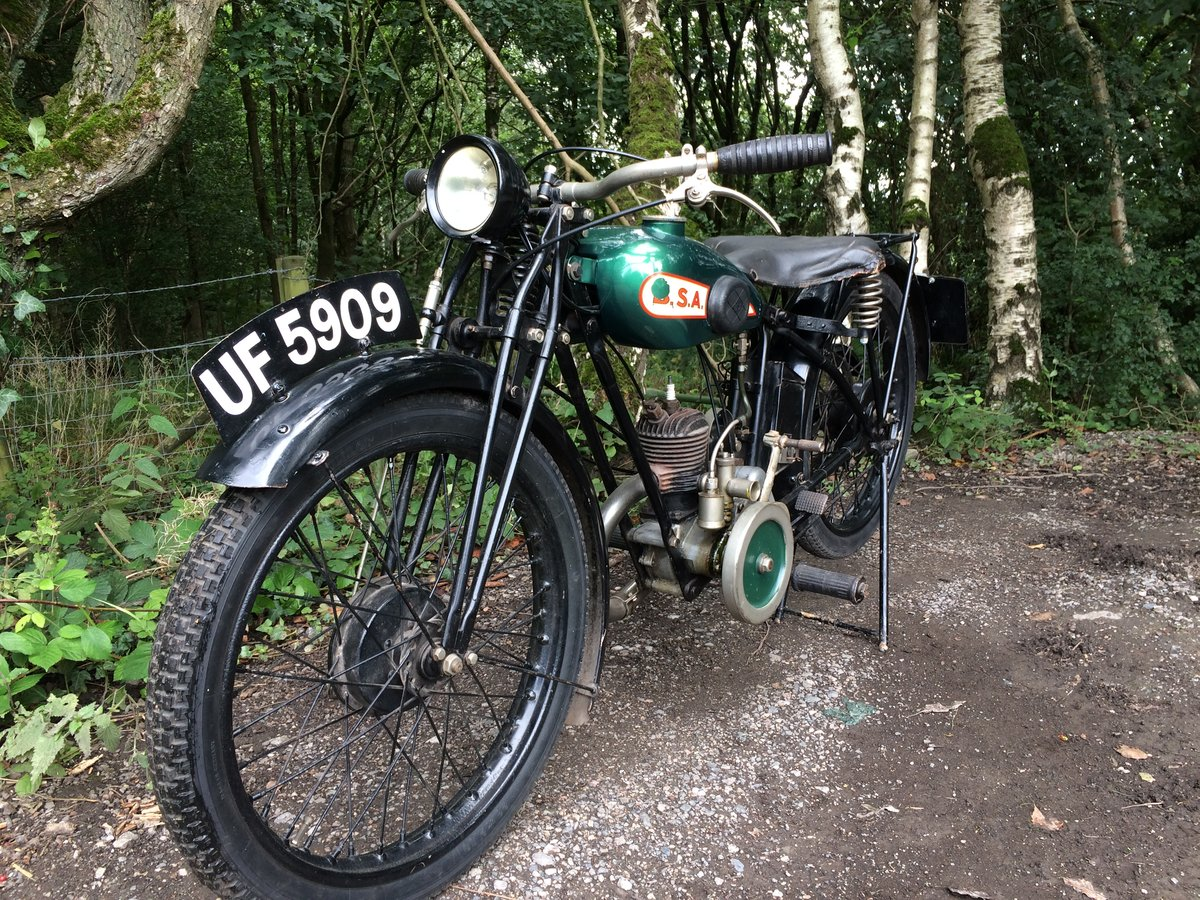 Bsa A30 1.74HP 1930 Vintage Banbury Run Bike. For Sale (picture 6 of 6)