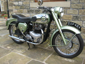 1956 BSA A7 Shooting Star For Sale