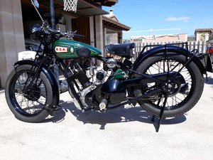 1927 BSA  S27  Sloper  500cc. - restored