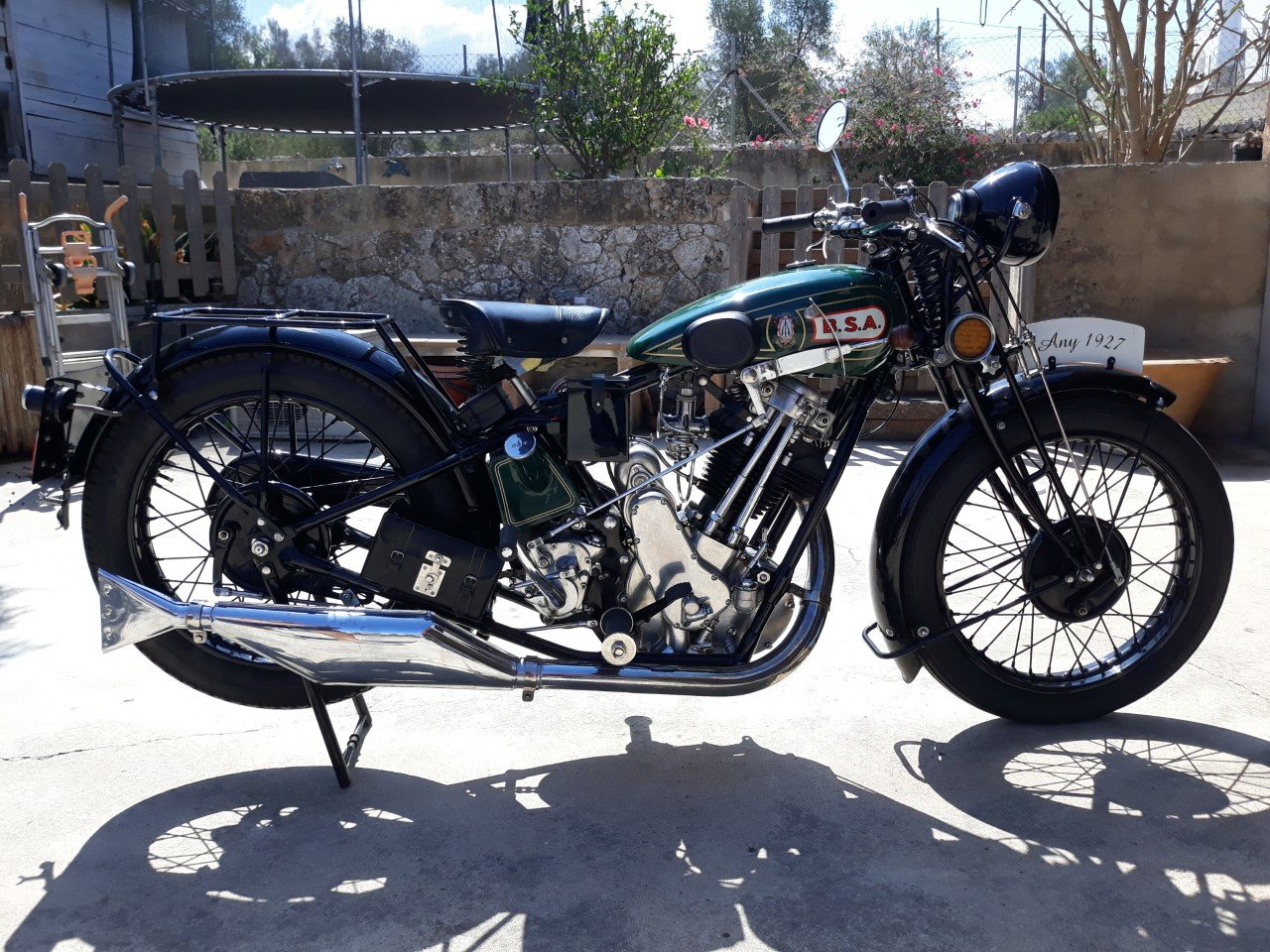 Picture of 1927 BSA  S27  Sloper  500cc. - restored, v.g.c. For Sale