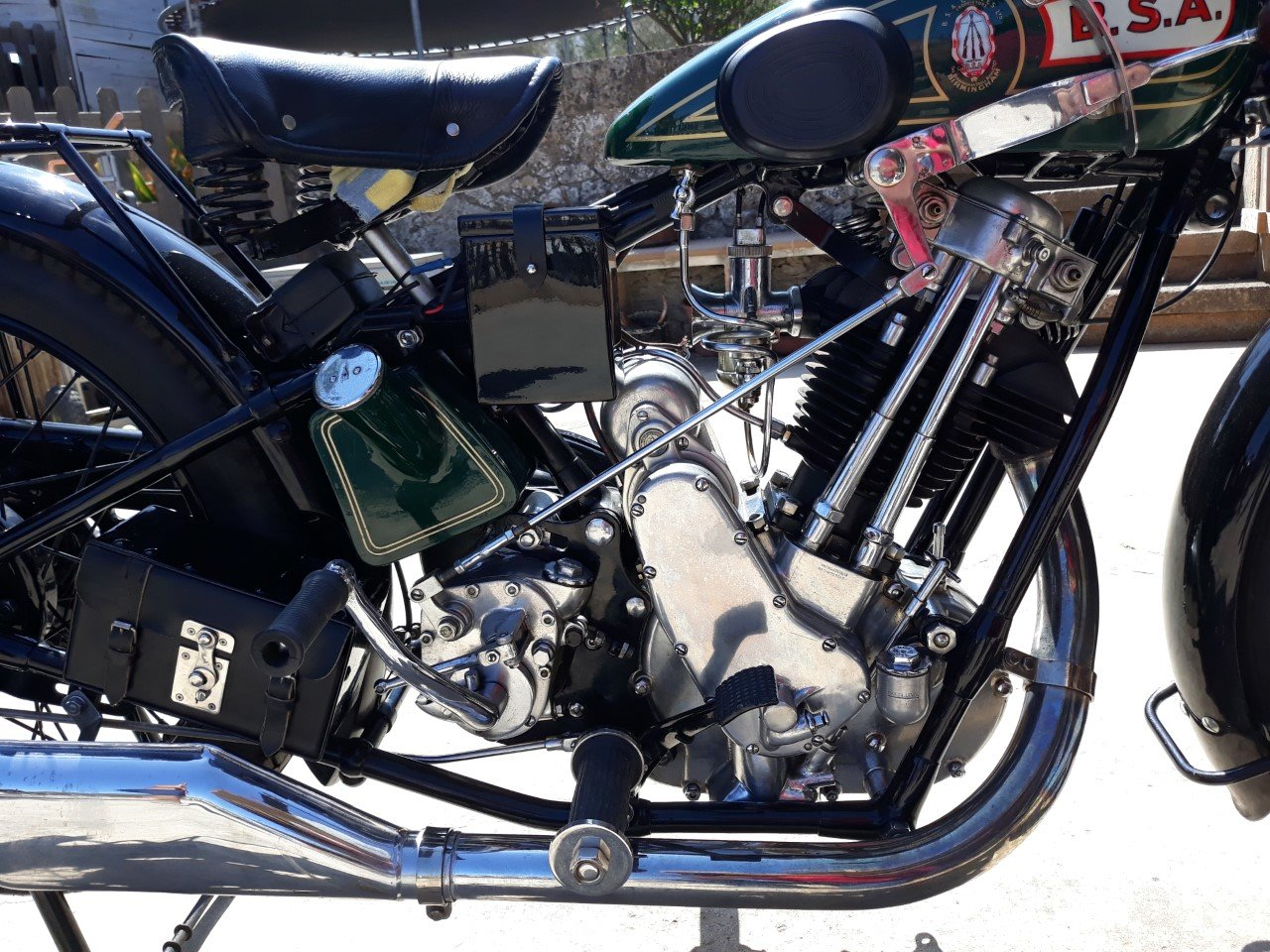 1927 BSA  S27  Sloper  500cc. - restored For Sale (picture 4 of 6)
