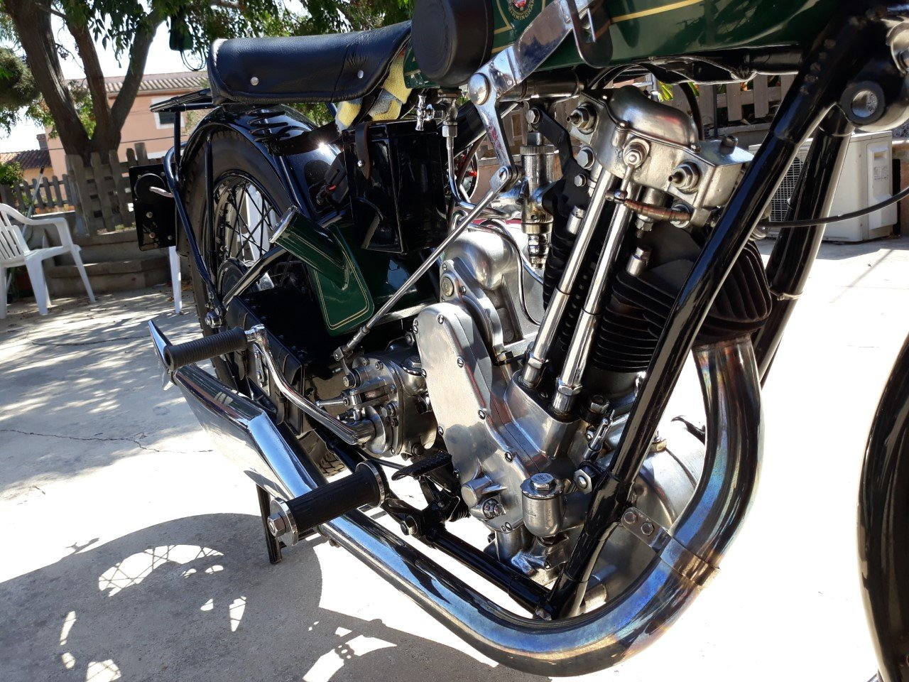 1927 BSA  S27  Sloper  500cc. - restored For Sale (picture 6 of 6)