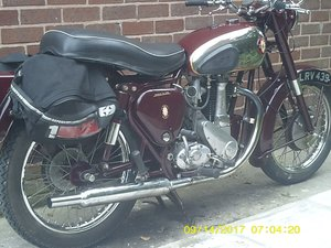 1955 BSA B33 500cc Single