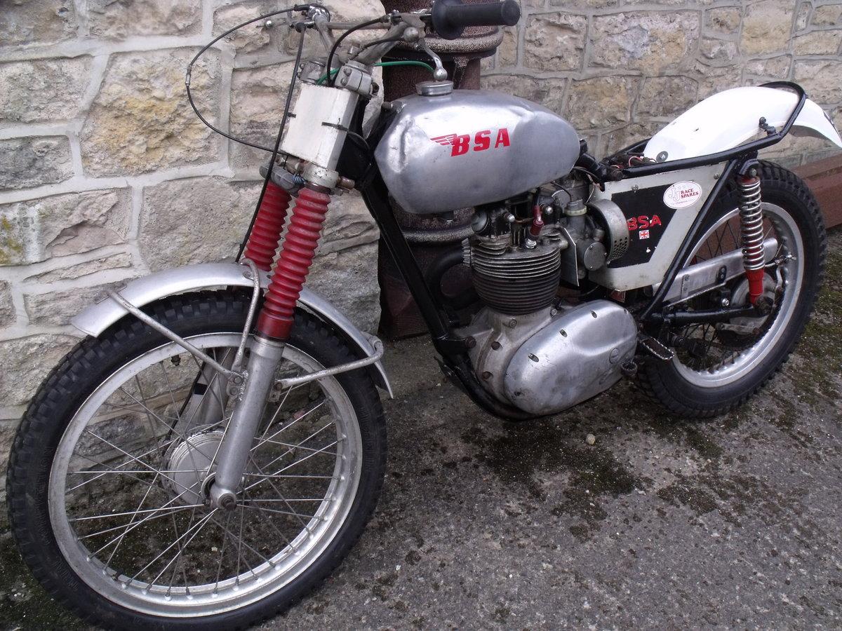 1960 BSA B40 350cc unit single Pre 65 trials bike Leeds For Sale (picture 2 of 3)