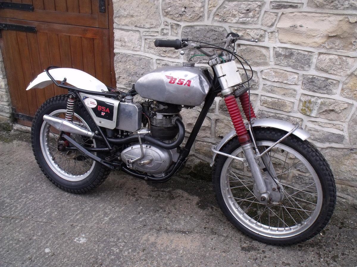 1960 BSA B40 350cc unit single Pre 65 trials bike Leeds For Sale (picture 3 of 3)