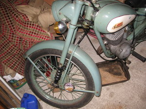 1955 Bsa bantam  SOLD