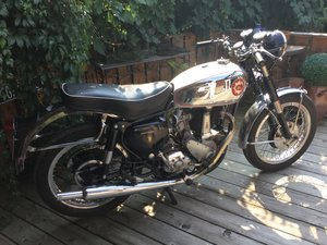 1959 BSA B31 Gold Star look-a-like.