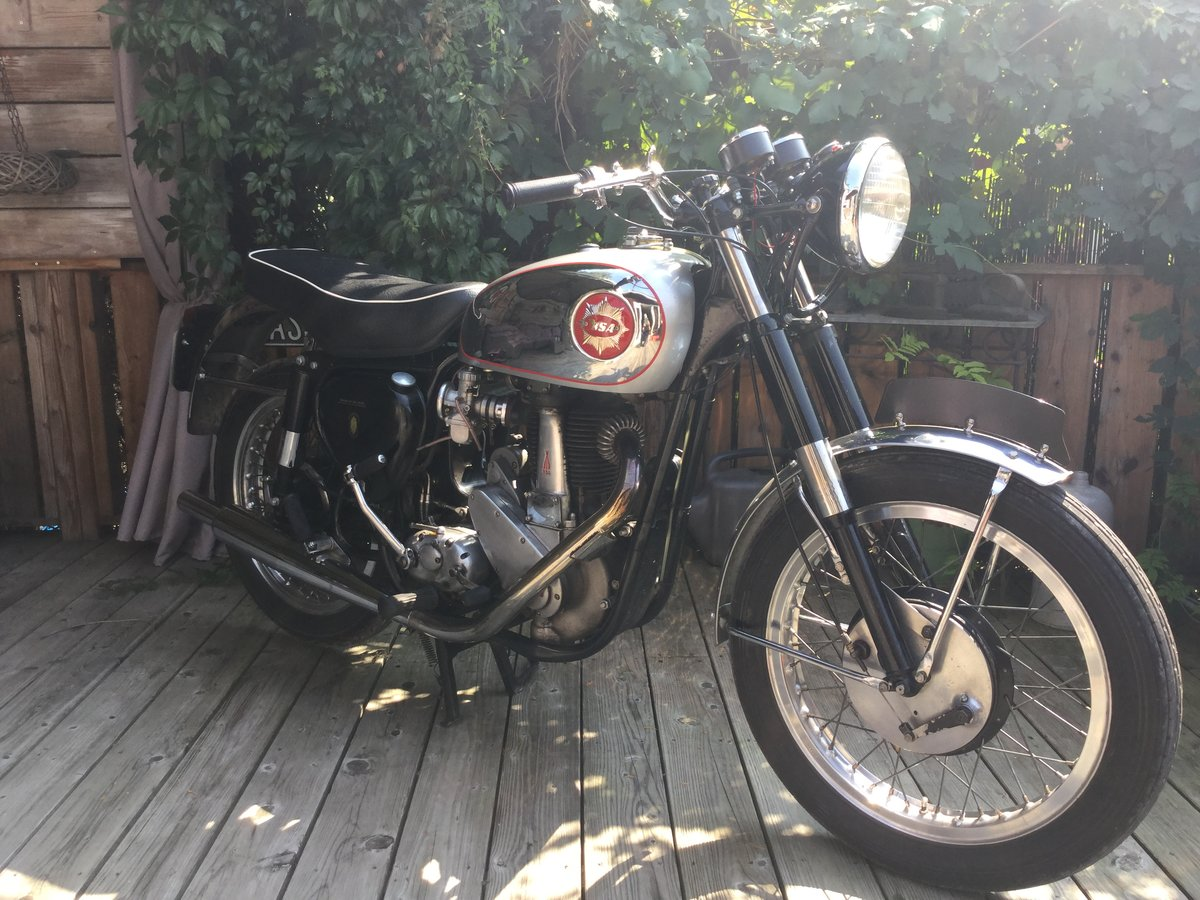 1959 BSA B31 Gold Star look-a-like. For Sale (picture 4 of 6)