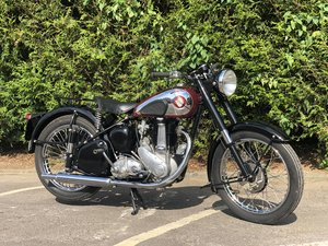 BSA B31 Plunger 1955 350cc Restored  For Sale
