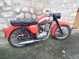 1962 BSA C15 250cc barn find for restoration Leeds