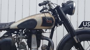 BSA B31 1946 73 years old with Matching Numbers!