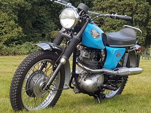 BSA B25S Starfire 1968 Tested with Video (matching numbers)  For Sale