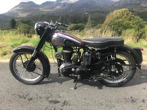 1953 BSA M21 600cc Side Valve
