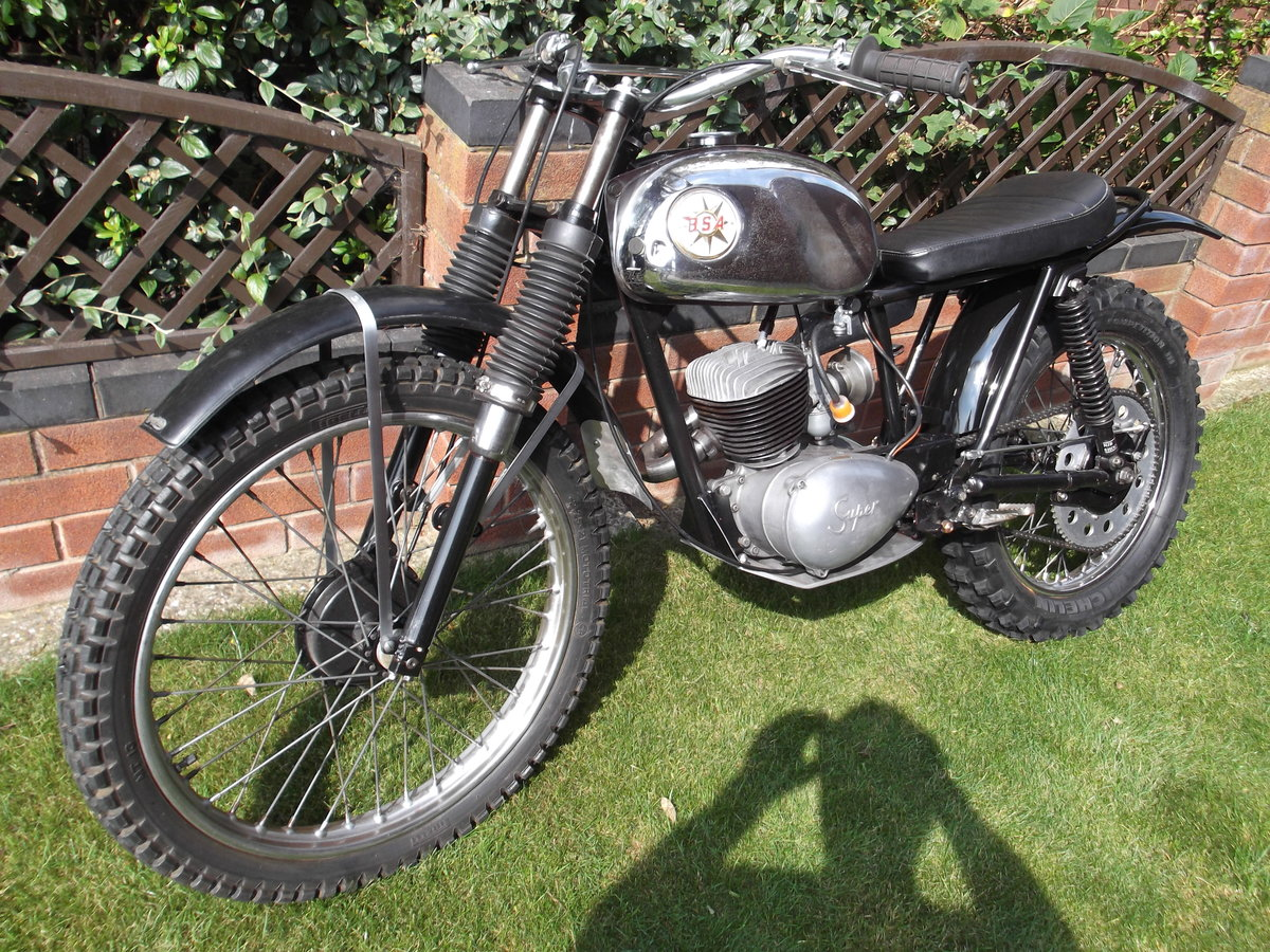 1964 BSA Bantan Trials Motorcyle SOLD (picture 2 of 6)