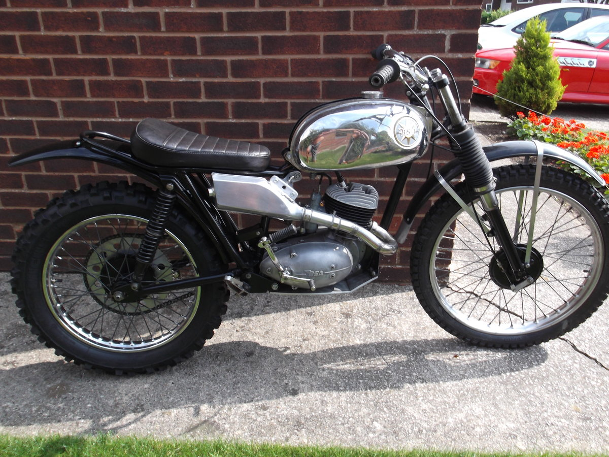 1964 BSA Bantan Trials Motorcyle SOLD (picture 3 of 6)