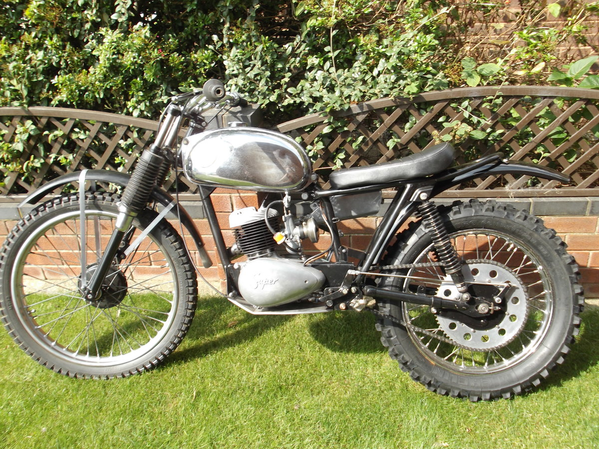1964 BSA Bantan Trials Motorcyle SOLD (picture 5 of 6)