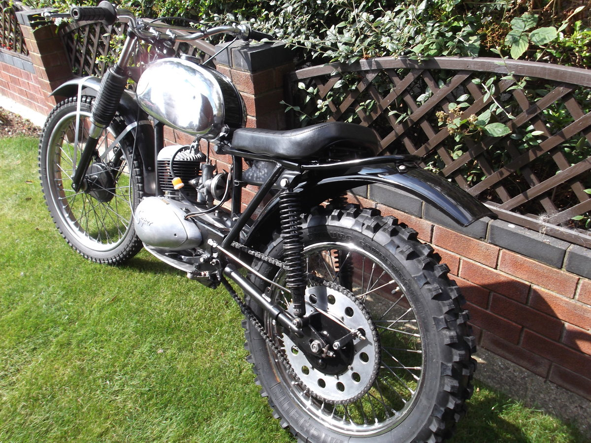 1964 BSA Bantan Trials Motorcyle SOLD (picture 6 of 6)
