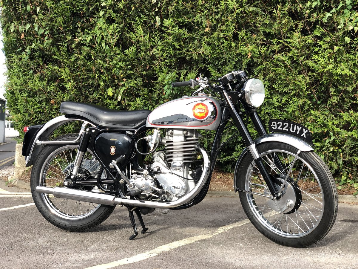 Genuine BSA CB 32 1954 Electric Start 400cc For Sale (picture 1 of 6)
