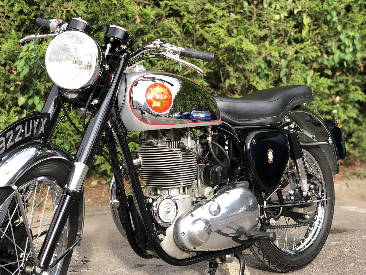 Genuine BSA CB 32 1954 Electric Start 400cc For Sale (picture 2 of 6)