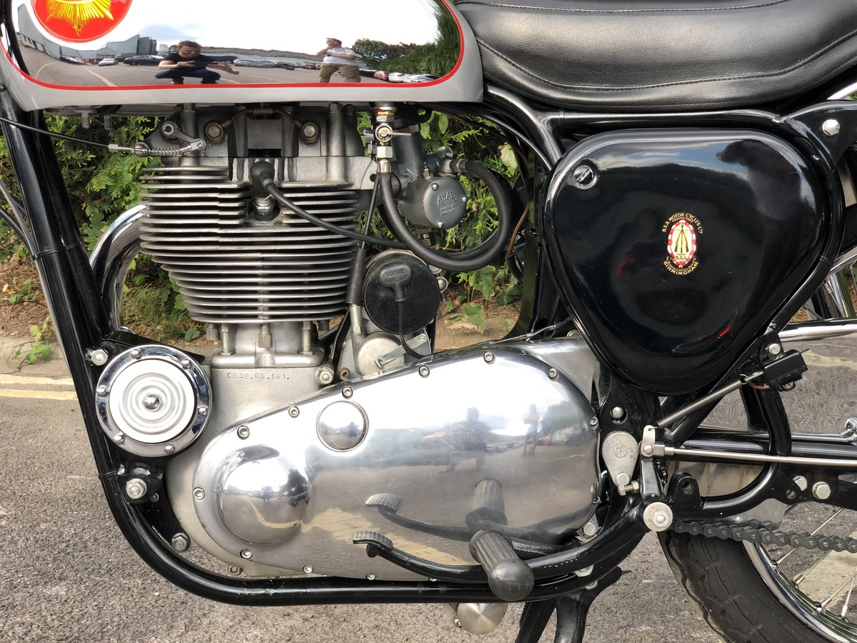 Genuine BSA CB 32 1954 Electric Start 400cc For Sale (picture 4 of 6)