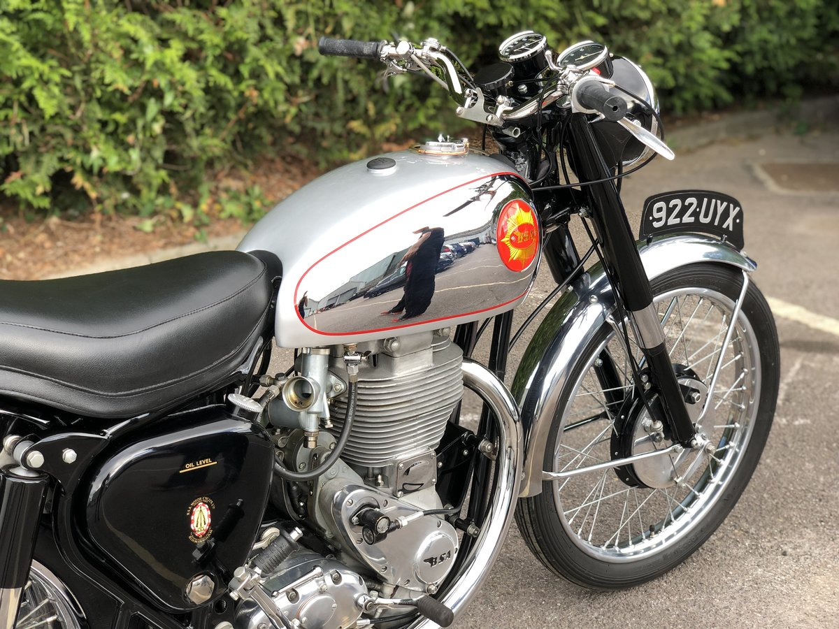 Genuine BSA CB 32 1954 Electric Start 400cc For Sale (picture 5 of 6)