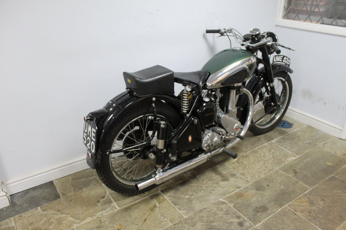 1949 BSA B31 350 cc OHV  Plunger  , Beautiful BSA  SOLD (picture 2 of 6)