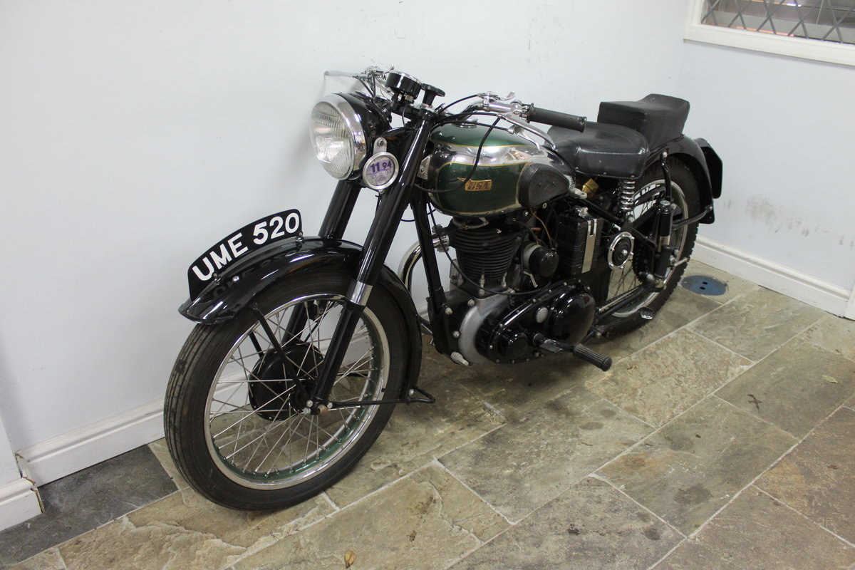 1949 BSA B31 350 cc OHV  Plunger  , Beautiful BSA  SOLD (picture 5 of 6)