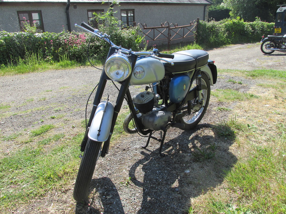 1968 BSA Bantam D14/4 SOLD (picture 1 of 2)