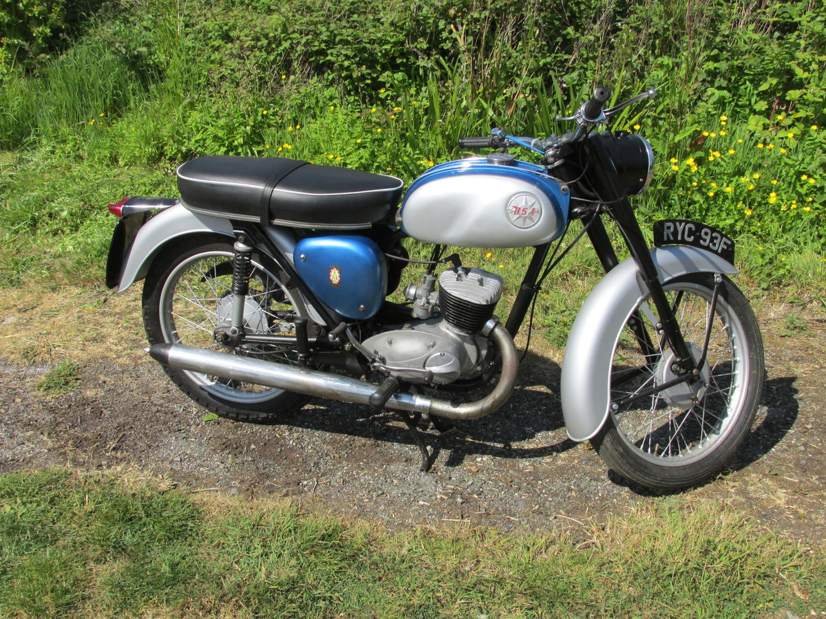 1968 BSA Bantam D14/4 SOLD (picture 2 of 2)