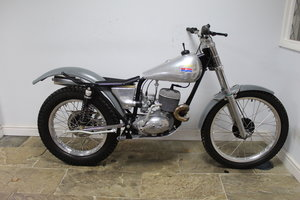 1965 BSA Bantam Pre 65 Trials Built  Mark Seward MSR Engineerin