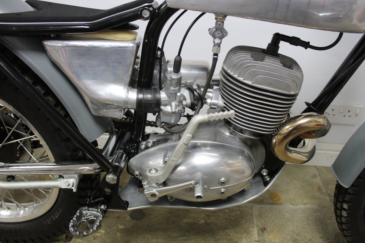 1965 BSA Bantam Pre 65 Trials Built  Mark Seward MSR Engineerin For Sale (picture 3 of 6)
