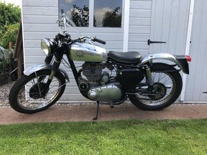 1954 BSA CB34 Gold Star Scrambler 350cc CB32 Frame For Sale