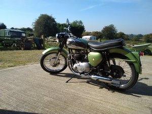 BSA A7 Matching numbers  For Sale
