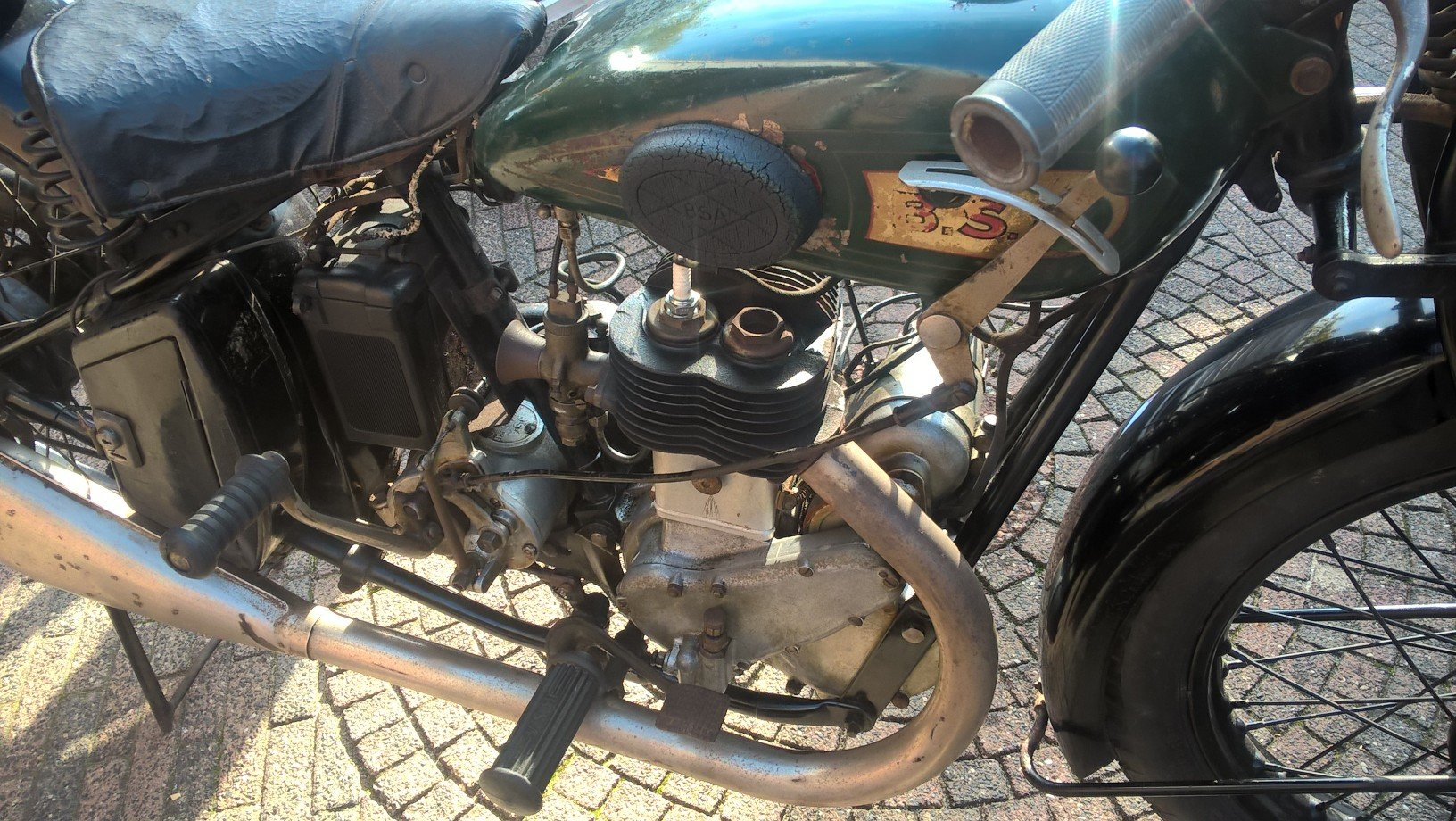 BSA L30-5 1930 first paint  SOLD (picture 5 of 6)