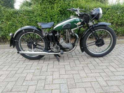 1936 BSA B18 For Sale by Auction (picture 1 of 6)