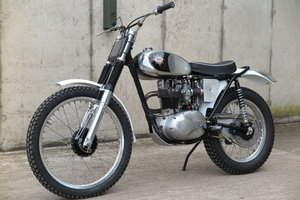 1962  BSA C15 Trials Bike ( Pre- 65 Trials )