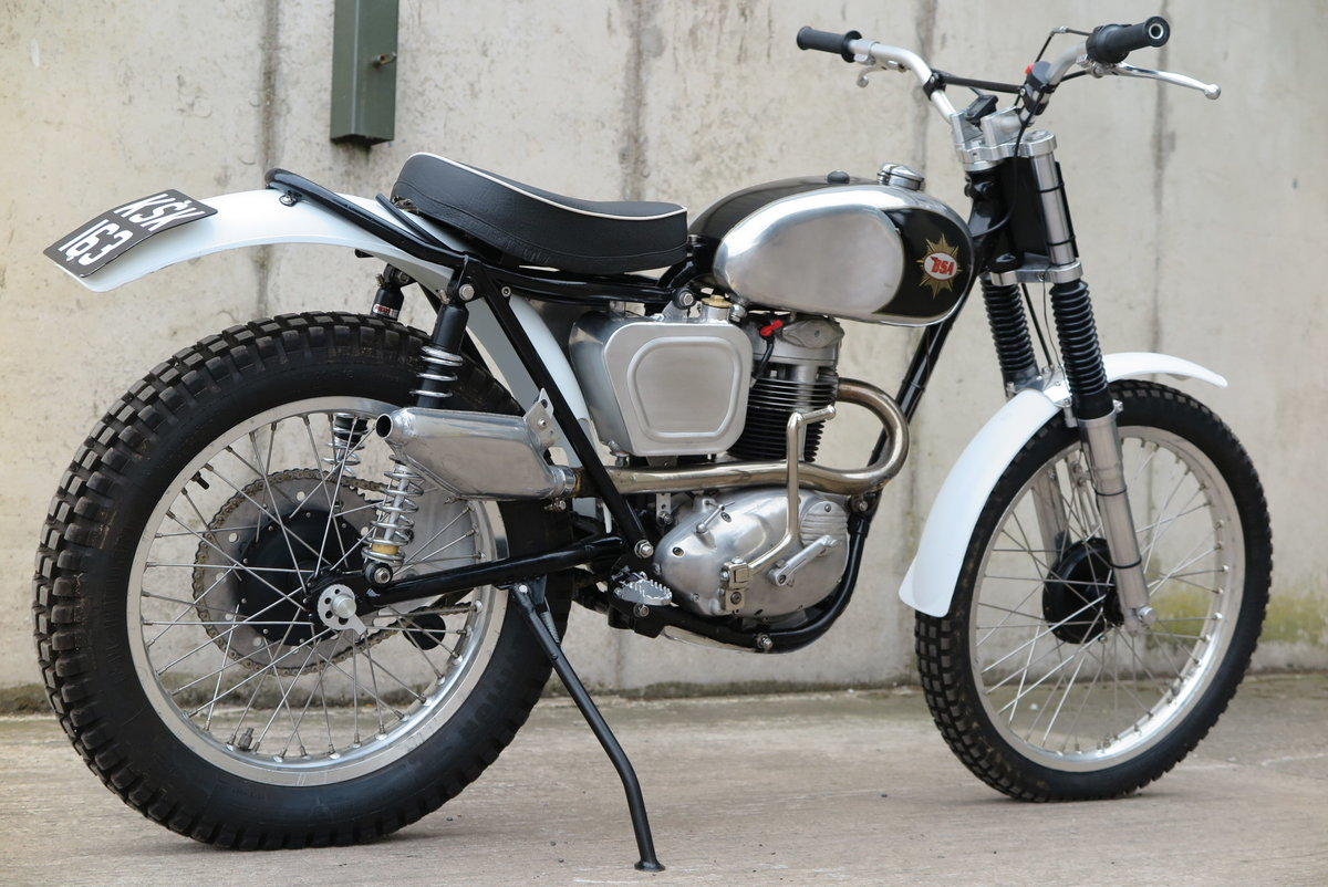 1962 BSA C15 Trials Bike ( Pre- 65 Trials ) For Sale (picture 3 of 6)