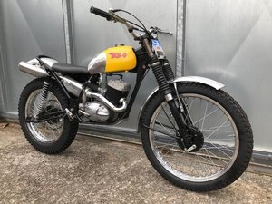 1965 BSA BANTAM PRE 65 TRIALS ALAN WRIGHT FRAME CRACKING BIKE