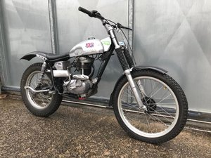 BSA C15 ROYAL ENFIELD FRAME TRIALS BIKE PRE 65 TRAILS £4295