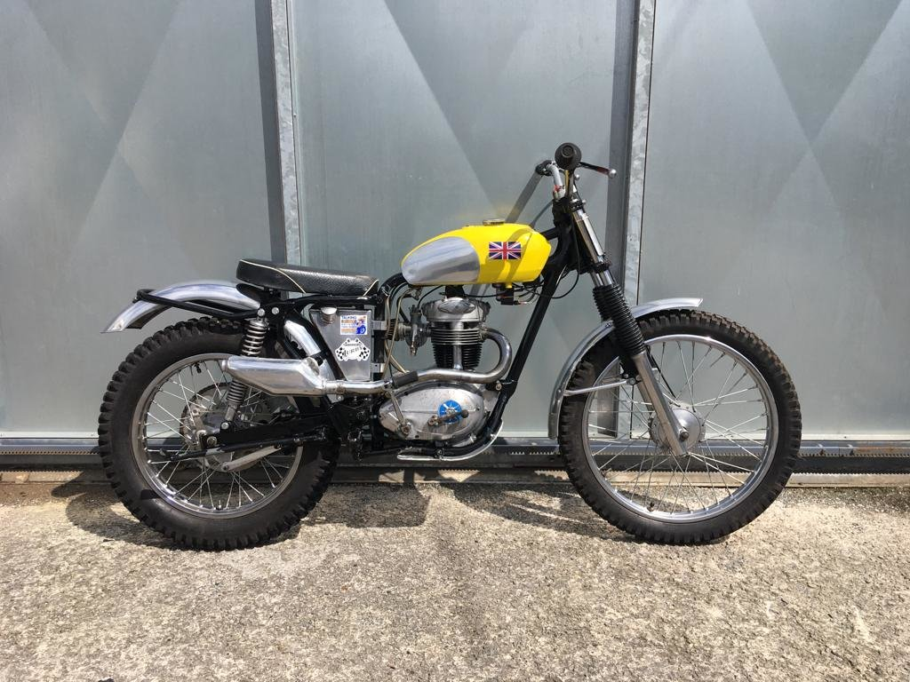 1961 BSA C15 TRIALS BIKE PRE 65 TRAIL GREEN LANER £3795 OFFERS PX For Sale (picture 1 of 5)