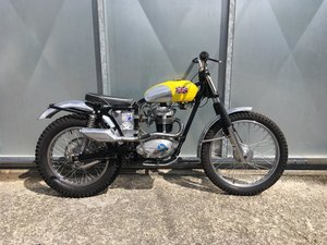 BSA C15 TRIALS BIKE PRE 65 TRAIL GREEN LANER £3795 OFFERS PX