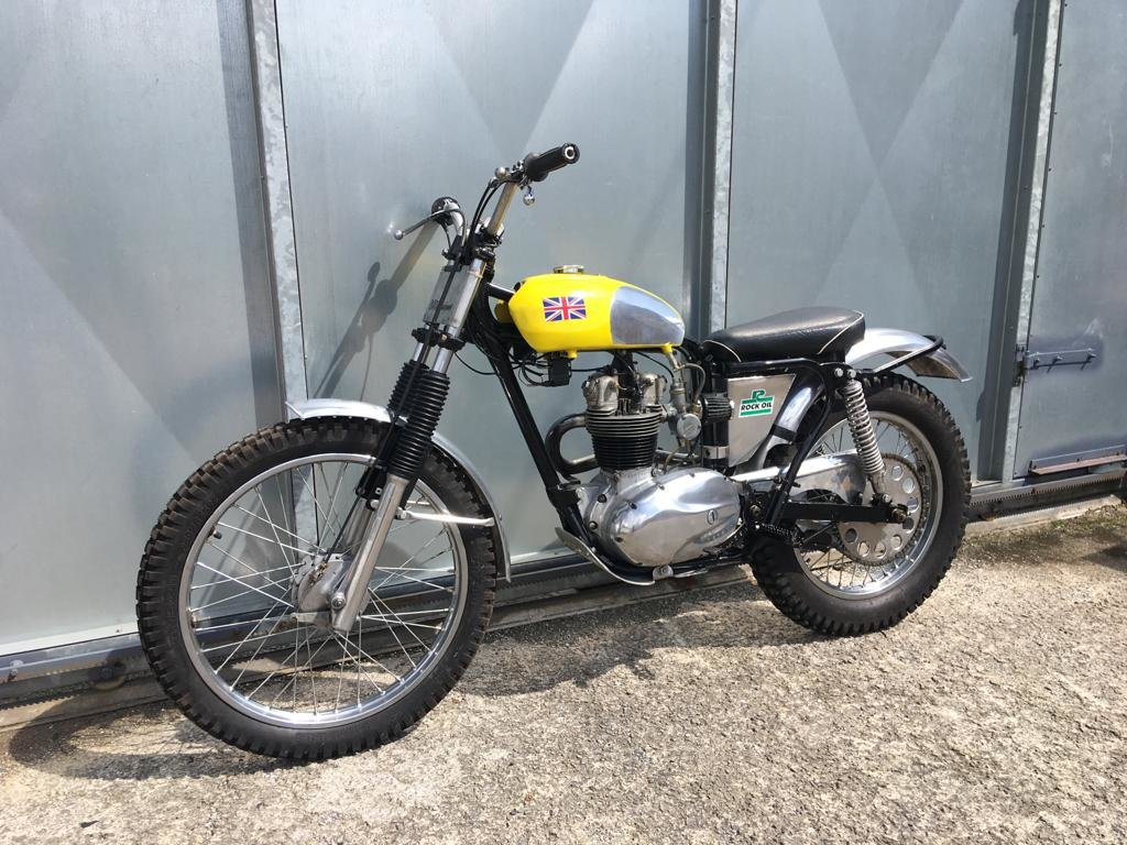 1961 BSA C15 TRIALS BIKE PRE 65 TRAIL GREEN LANER £3795 OFFERS PX For Sale (picture 2 of 5)