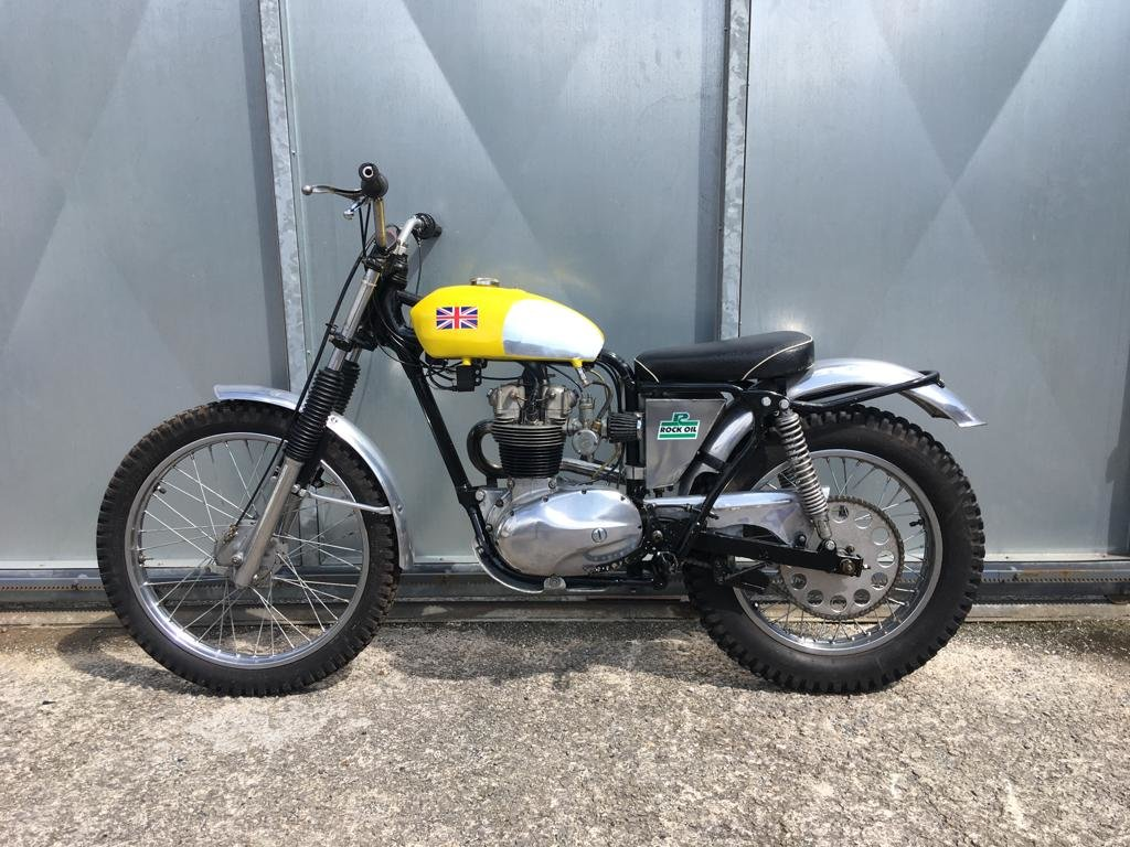 1961 BSA C15 TRIALS BIKE PRE 65 TRAIL GREEN LANER £3795 OFFERS PX For Sale (picture 3 of 5)