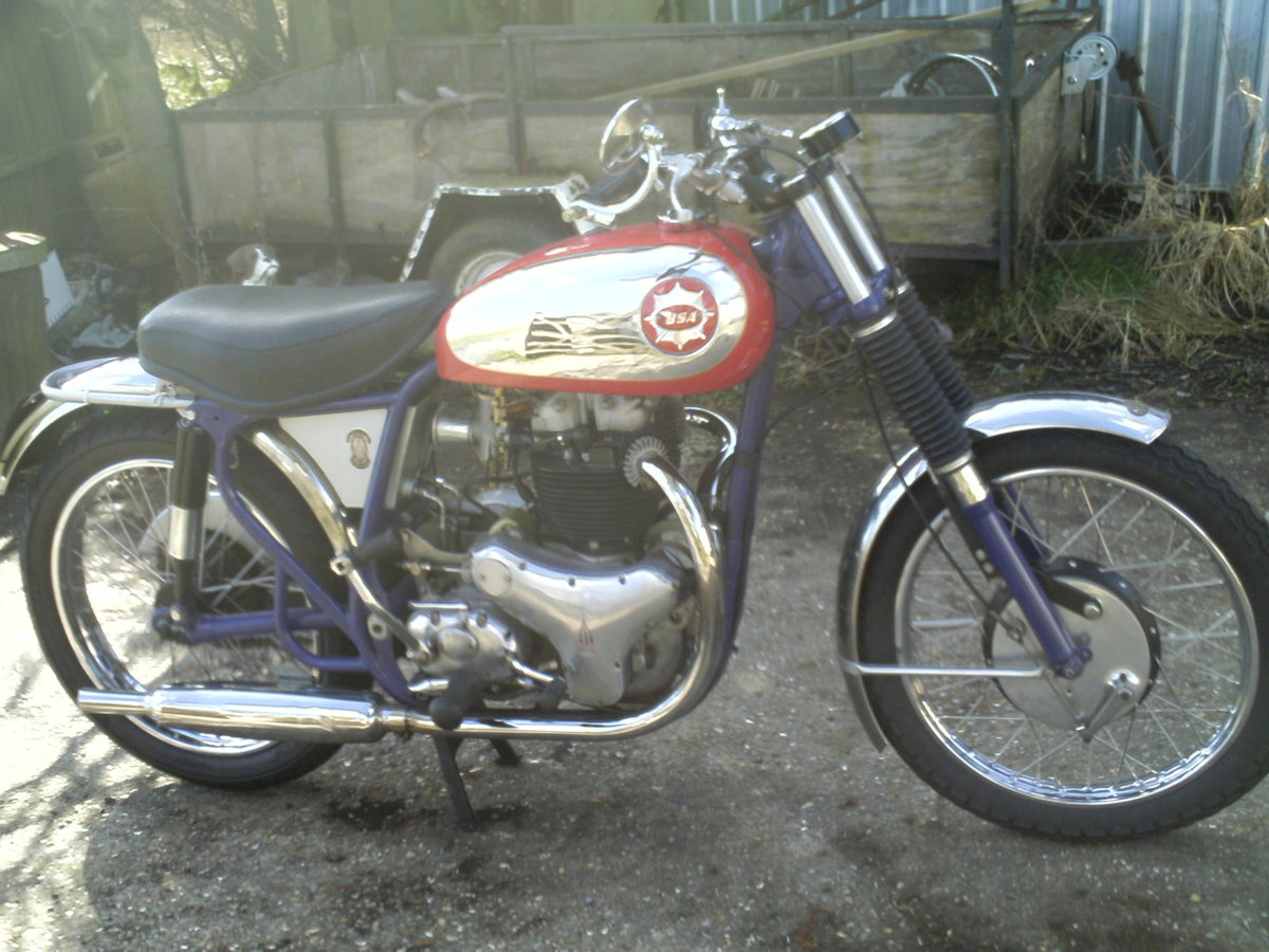 1959 BSA A10 SPITFIRE RGS SPECIAL REP For Sale (picture 1 of 6)