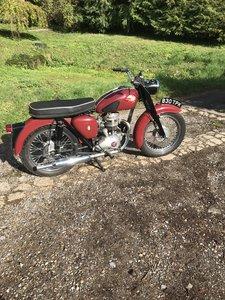 1961 BSA C15 250cc
